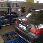 pomiar zadymienia BMW E60