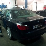 pomiar zadymienia BMW E60 530d 2